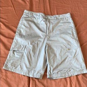 Men's Nike nylon cargo shorts